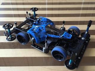 トライダガーZMC Black&Blue