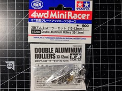 15398 Double Aluminum Rollers (13-12mm)