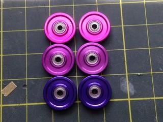 紫系13mmアルミローラー