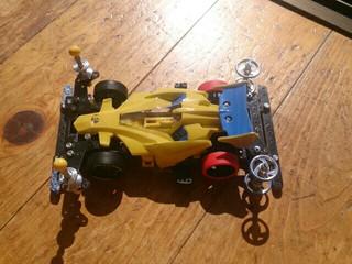 タークス神 2段アルミローラー ハードタイヤ