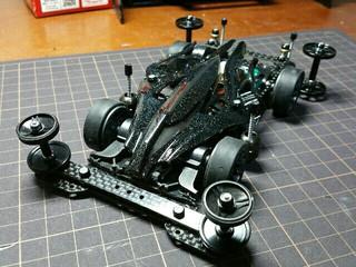 SUPER Ⅱ【Black】19ミリAA フルカーボン仕様☆