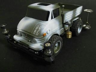 82号車  ウニモグダンプ